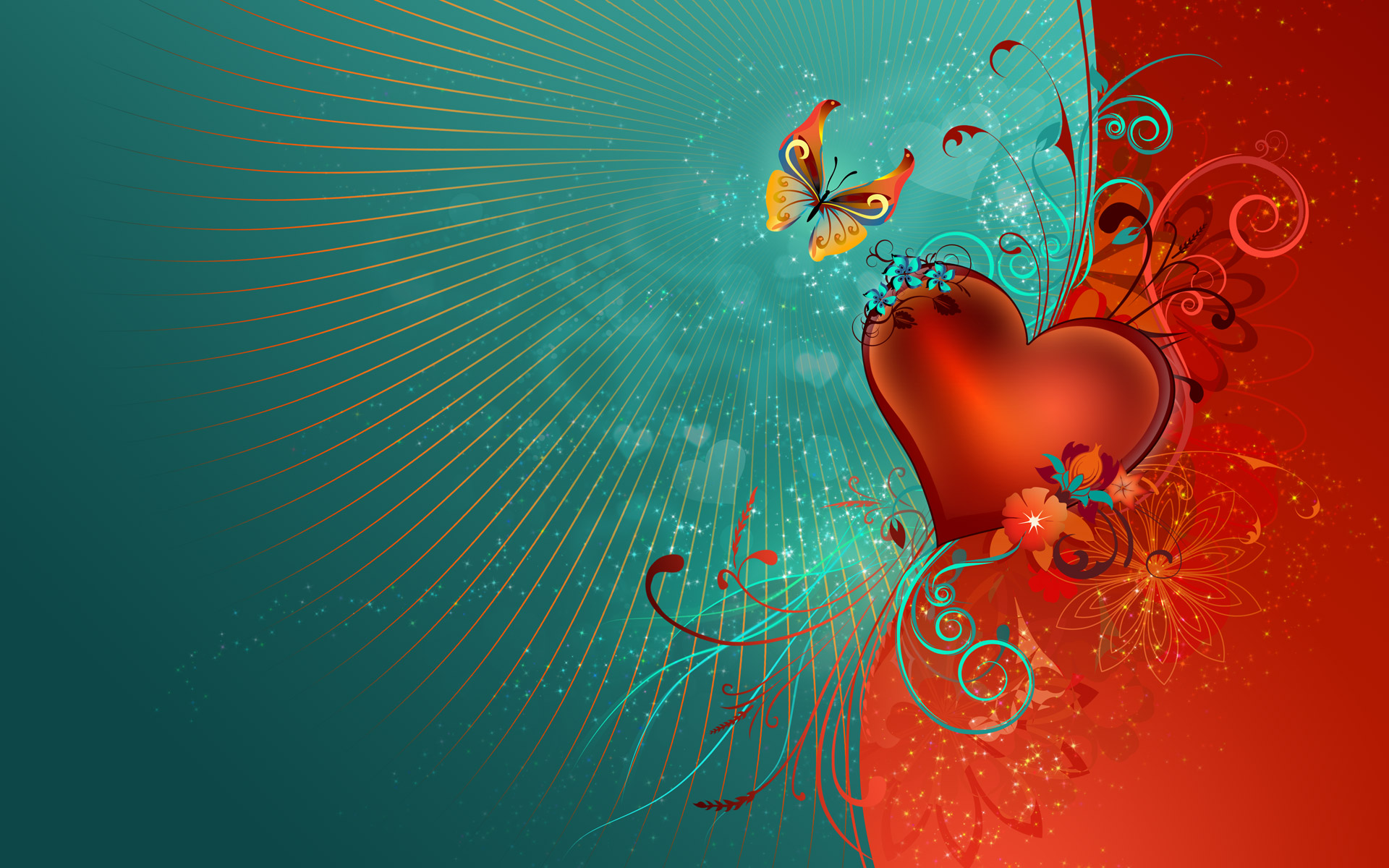 Love Heart HDTV 1080p Wallpapers | HD Wallpapers