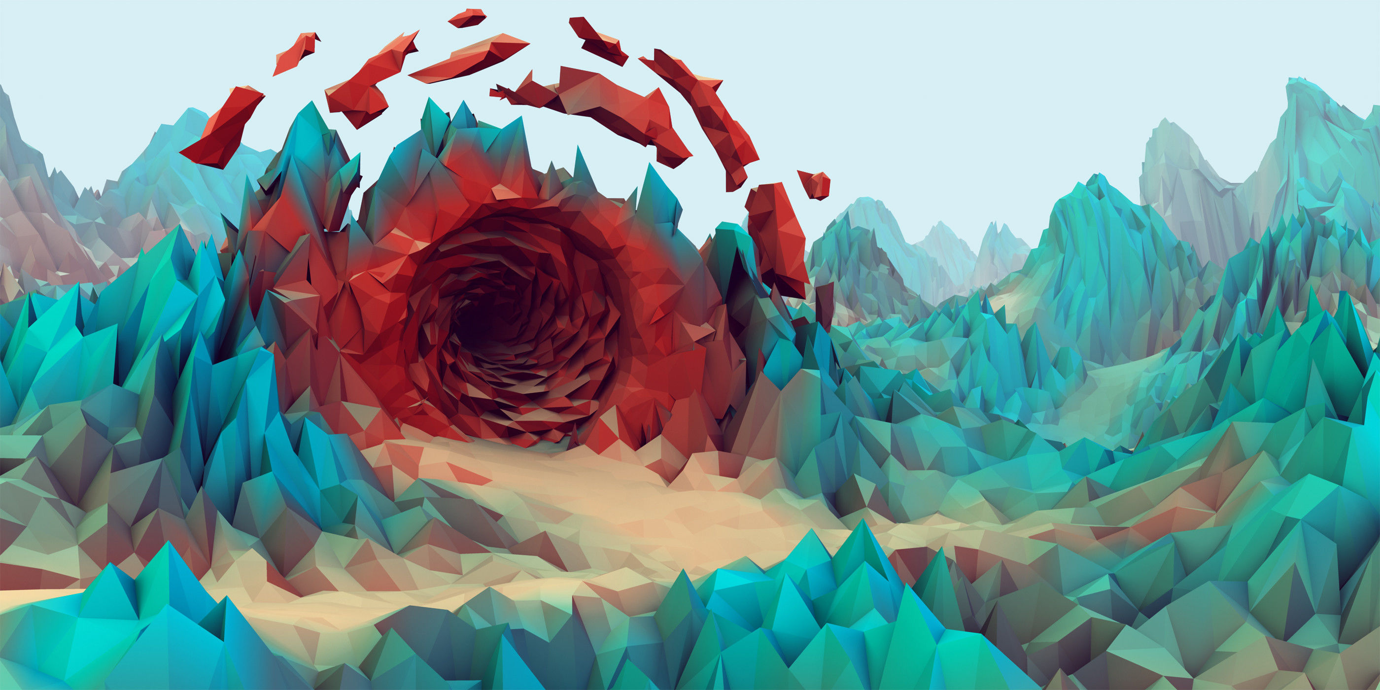 19 Beautiful Low-Poly Wallpapers - UltraLinx
