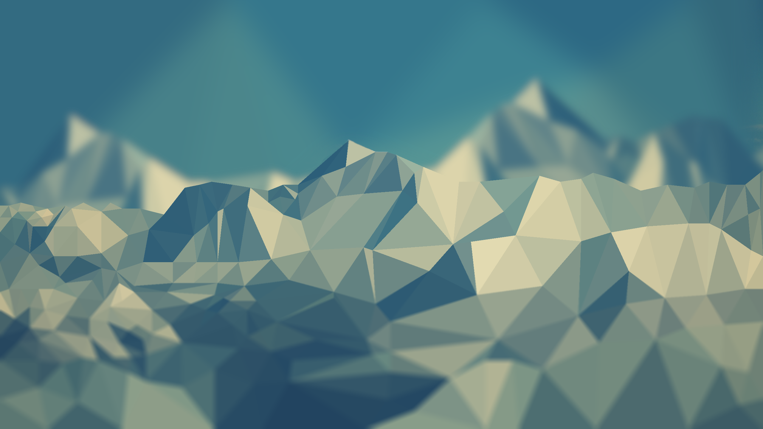 My favorite low poly wallpaper : wallpapers