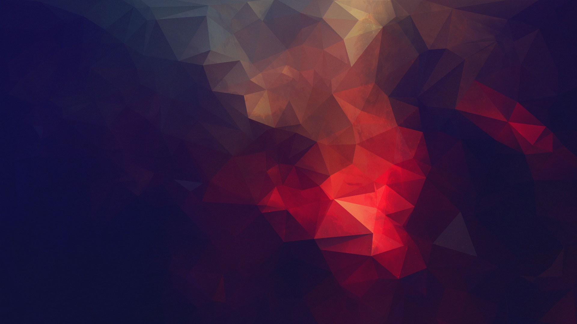 abstract, minimalism, low poly :: Wallpapers
