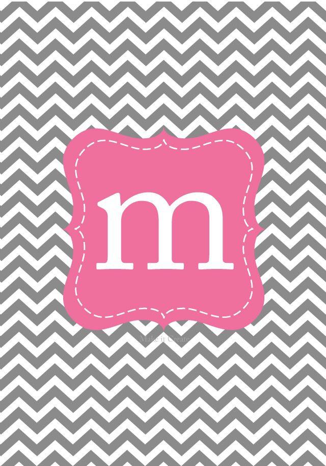 "Monogram ""M"" iPhone wallpaper | phone Wallpapers | Pinterest ... src"