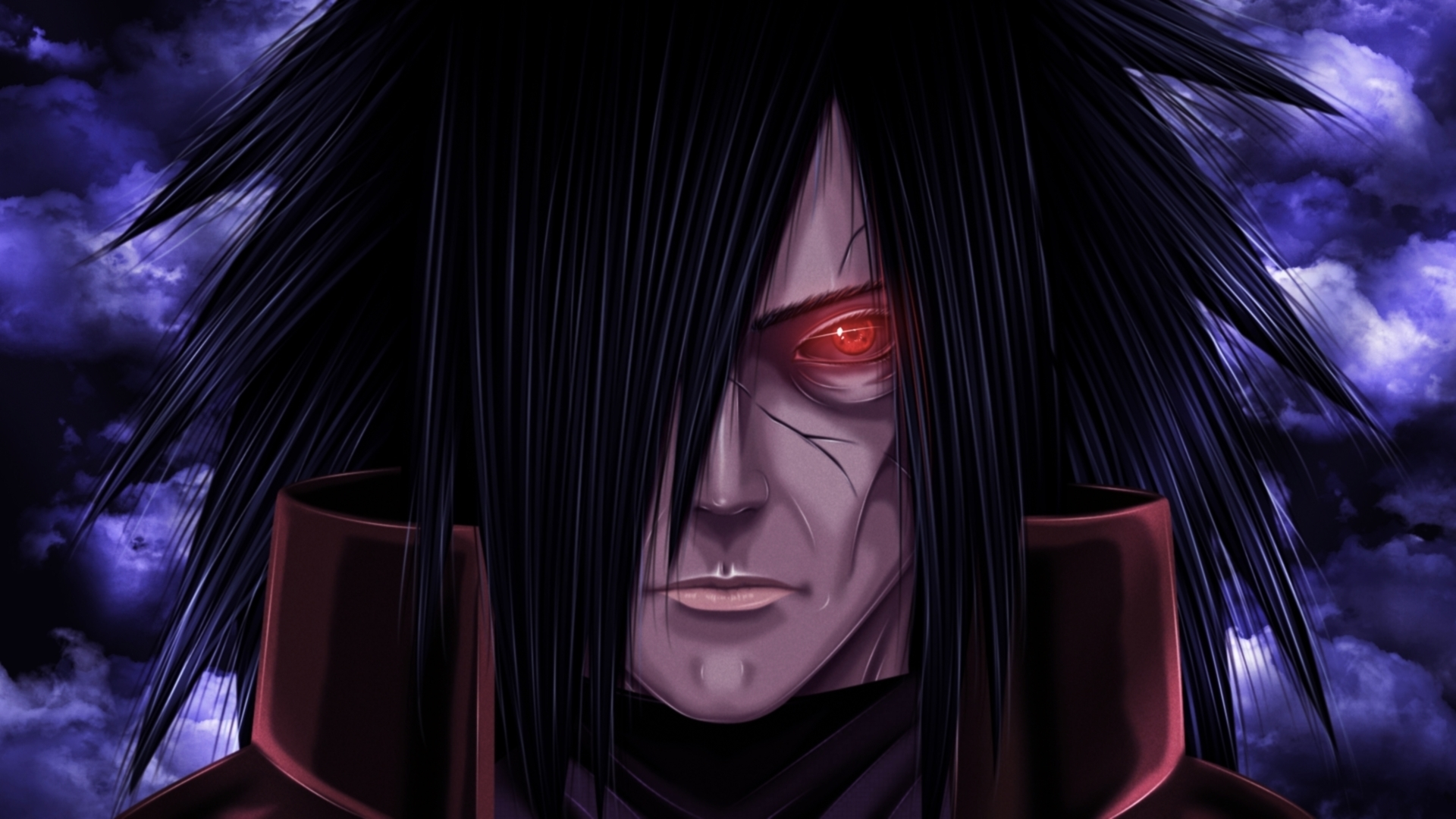 Download Wallpaper 1920x1080 Madara uchiha, Uchiha, Naruto anime