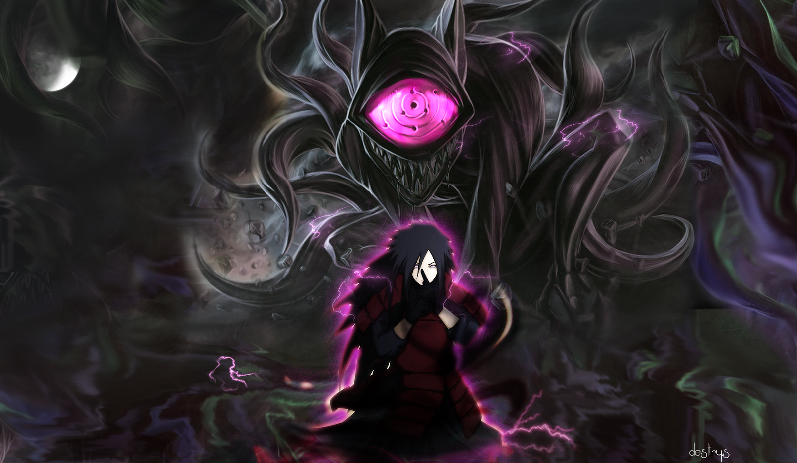 Madara Uchiha Wallpaper HD - WallpaperSafari