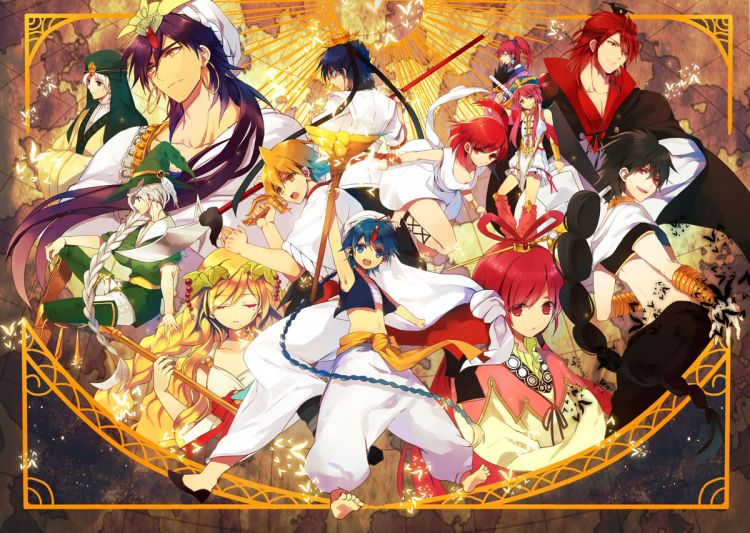 35 units of Magi Wallpaper