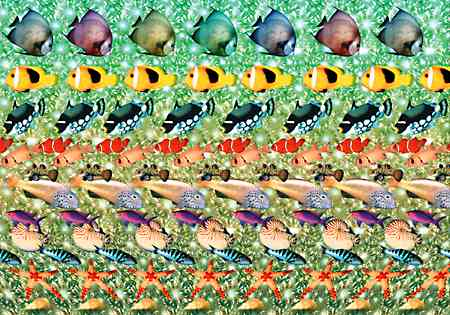 Magic Eye Stereogram - Dimensional Dots
