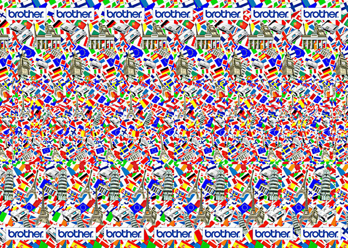 78+ images about Magic Eye Images on Pinterest | Sharks, Blue dots