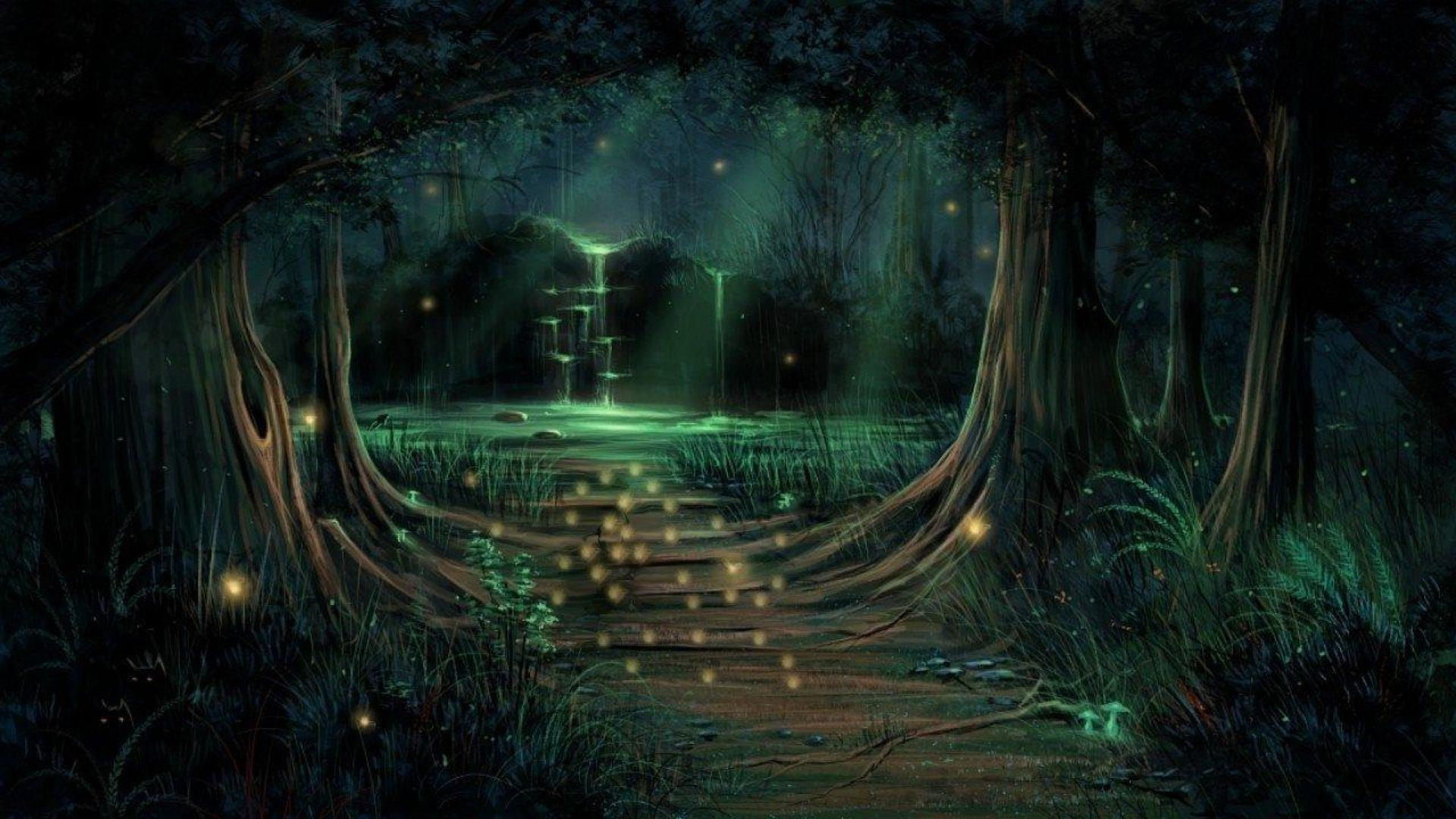Good Wallpaper Night Forest - magical-forest-wallpaper-14  Best Photo Reference-218823.jpg