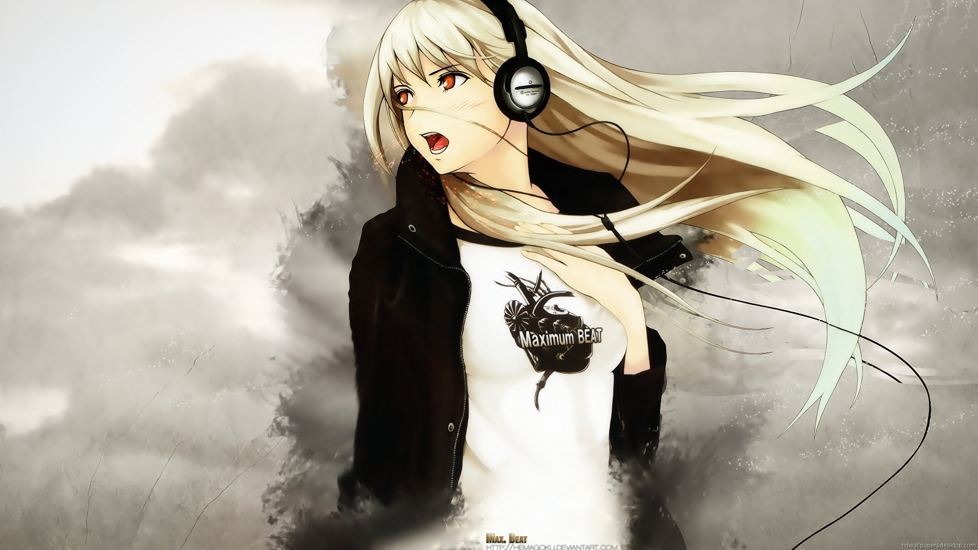 Download Anime Manga Girls Art Wallpaper X Full Hd