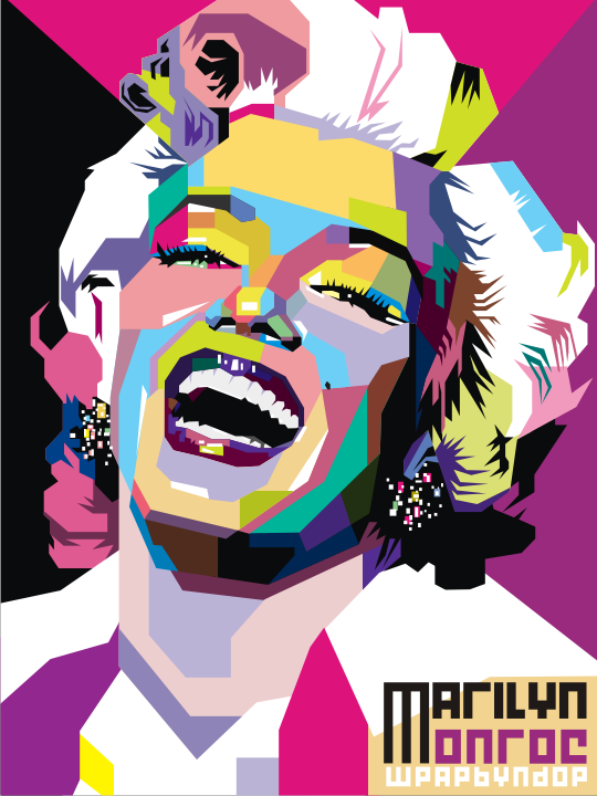 Monroe Pop Art Wallpaper Free Download