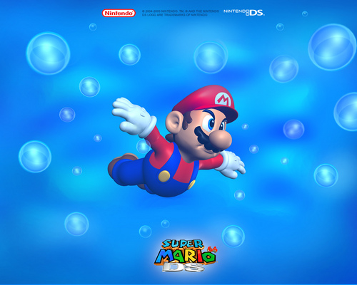 Mario 64 wallpaper - SF Wallpaper