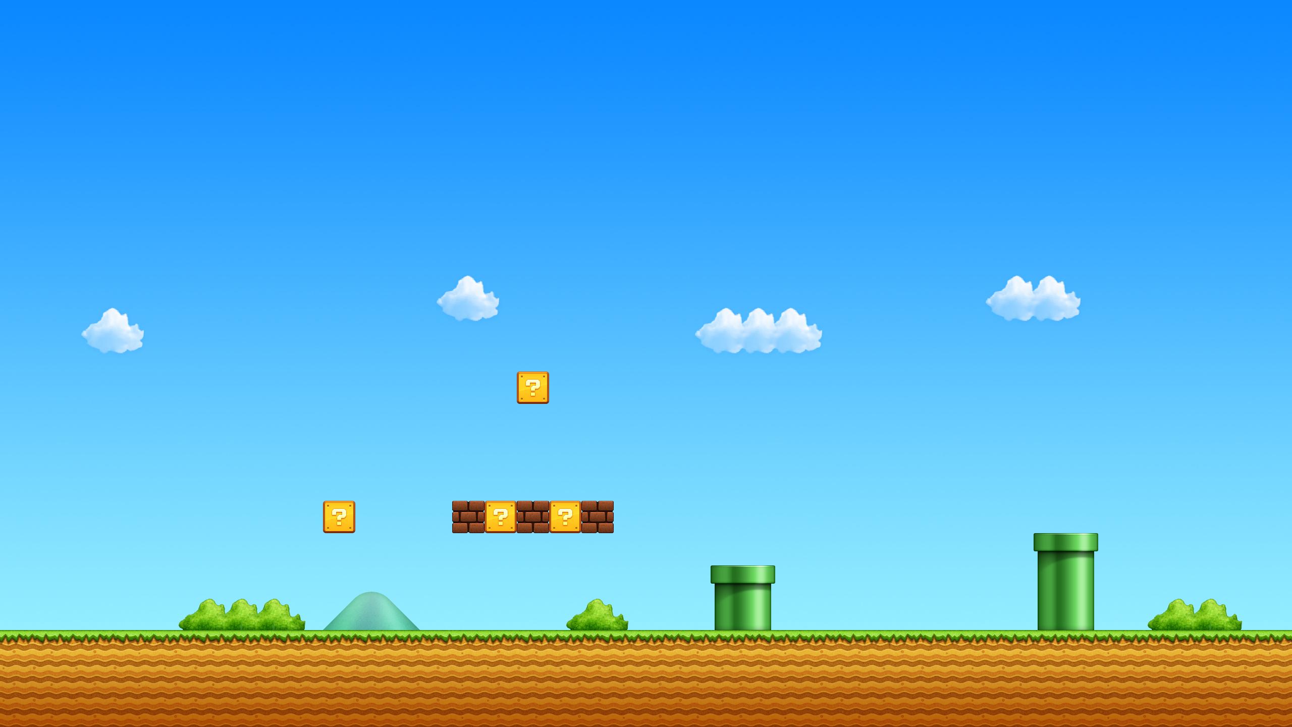 Mario bros background - SF Wallpaper