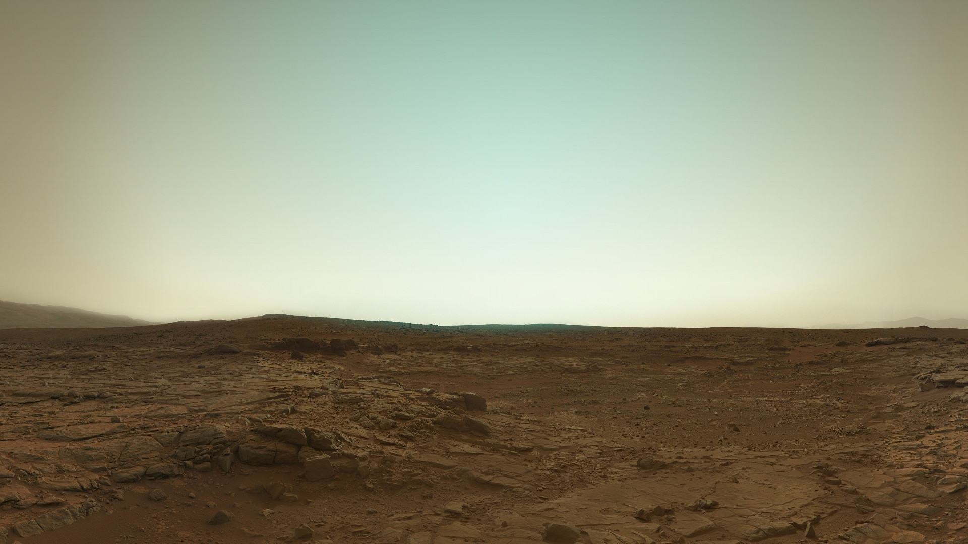 Mars in true color from Curiosity  [1920x1080] : wallpaper