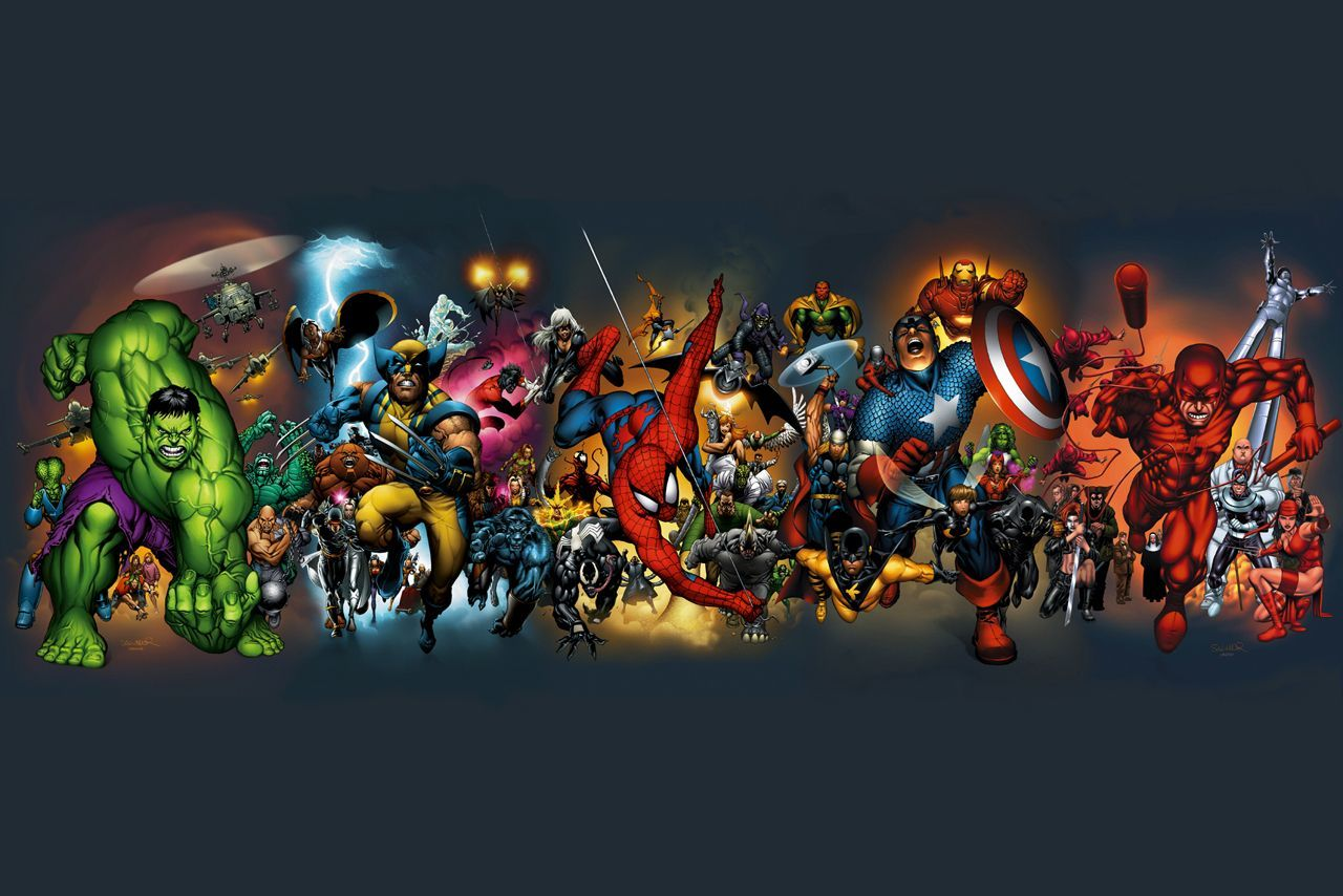 Marvel Super Heroes Wallpapers