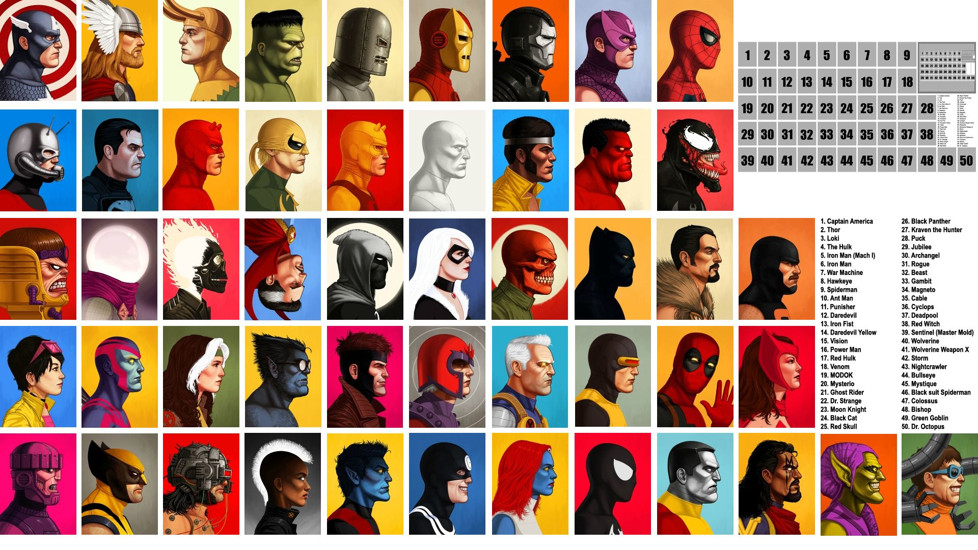 Marvel Wallpapers 1920x1080 Group (88+)
