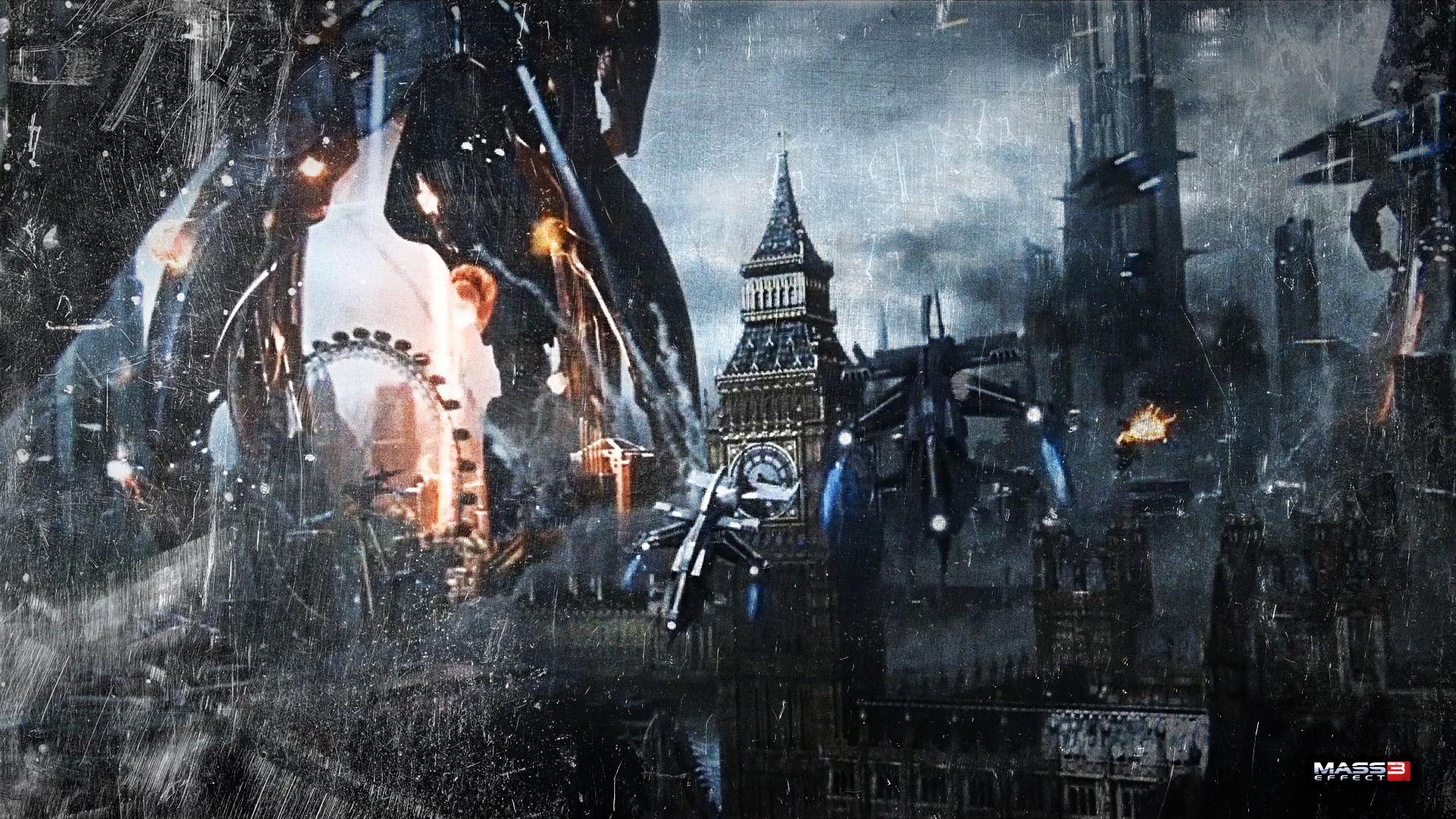 Mass Effect 3 Wallpaper 1920x1080 - WallpaperSafari