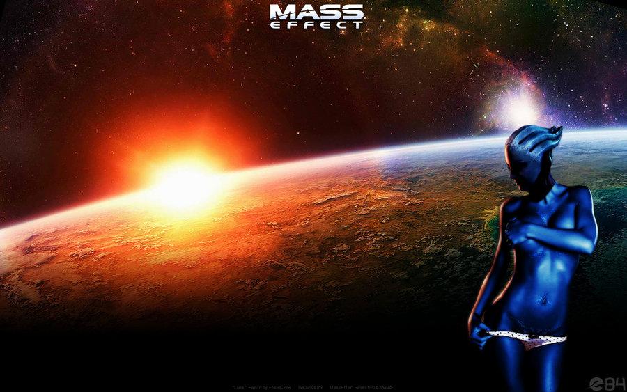 DeviantArt: More Like Mass Effect Liara T'soni Asari Wallpaper by
