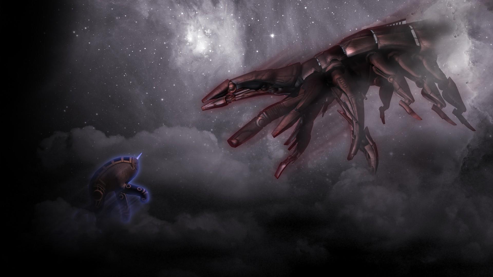 Mass Effect Reaper Wallpaper