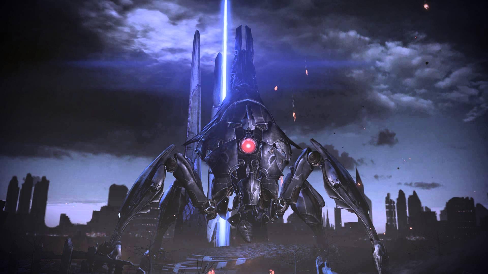 Mass Effect 3 Reaper Destroyer Dreamscene Video Wallpaper - YouTube