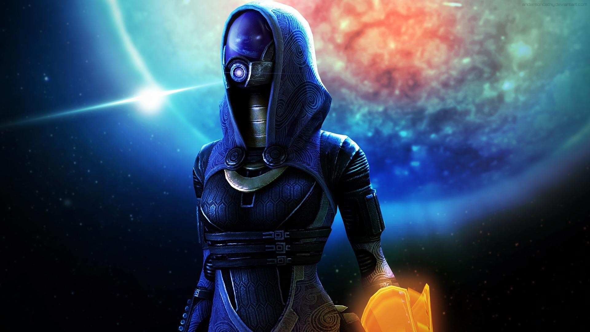Mass Effect Tali Wallpaper Sf Wallpaper