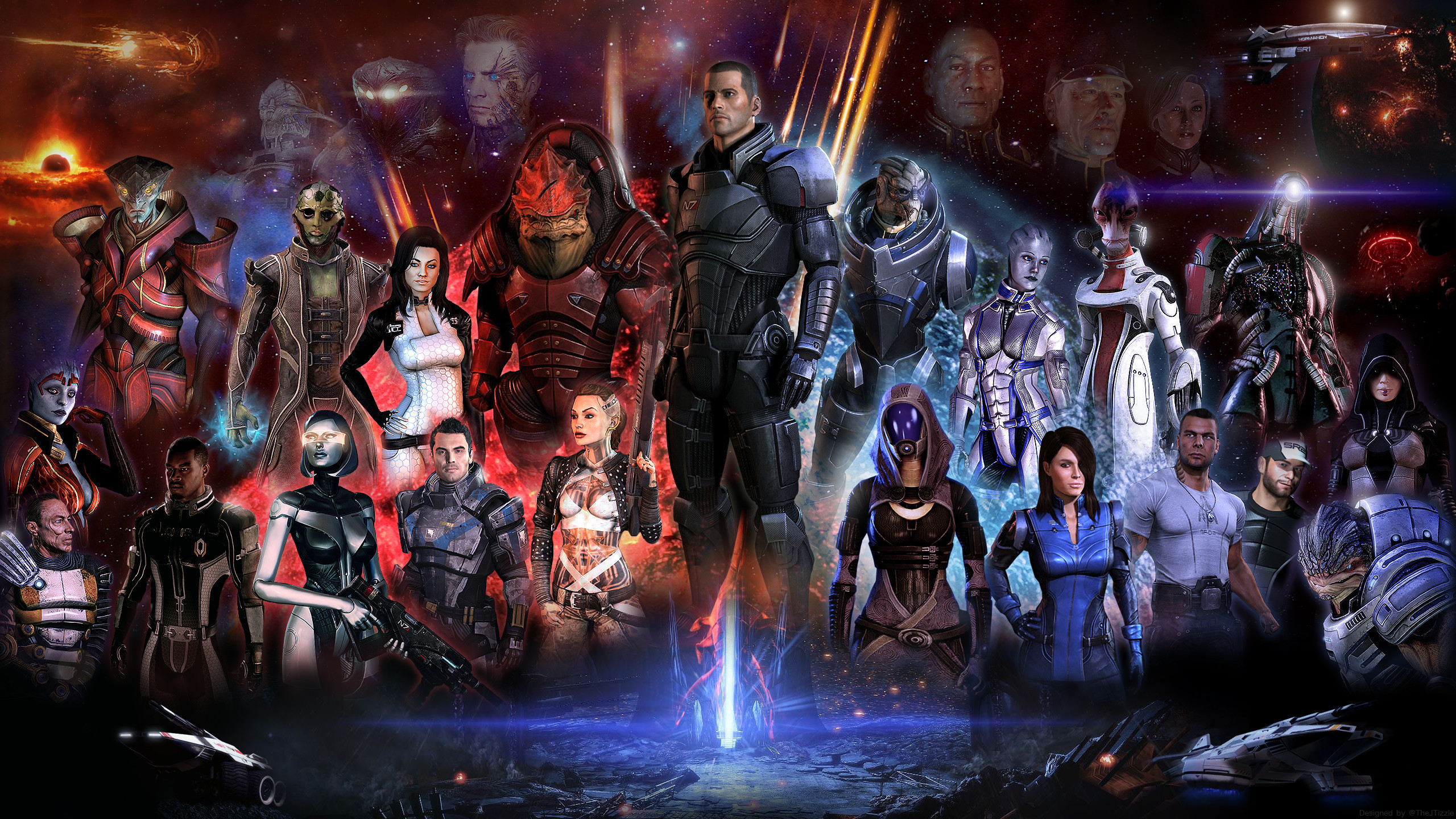 401 Mass Effect HD Wallpapers | Backgrounds - Wallpaper Abyss