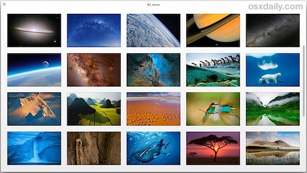 Access 40+ Beautiful Wallpapers Hidden in OS X El Capitan & Mavericks
