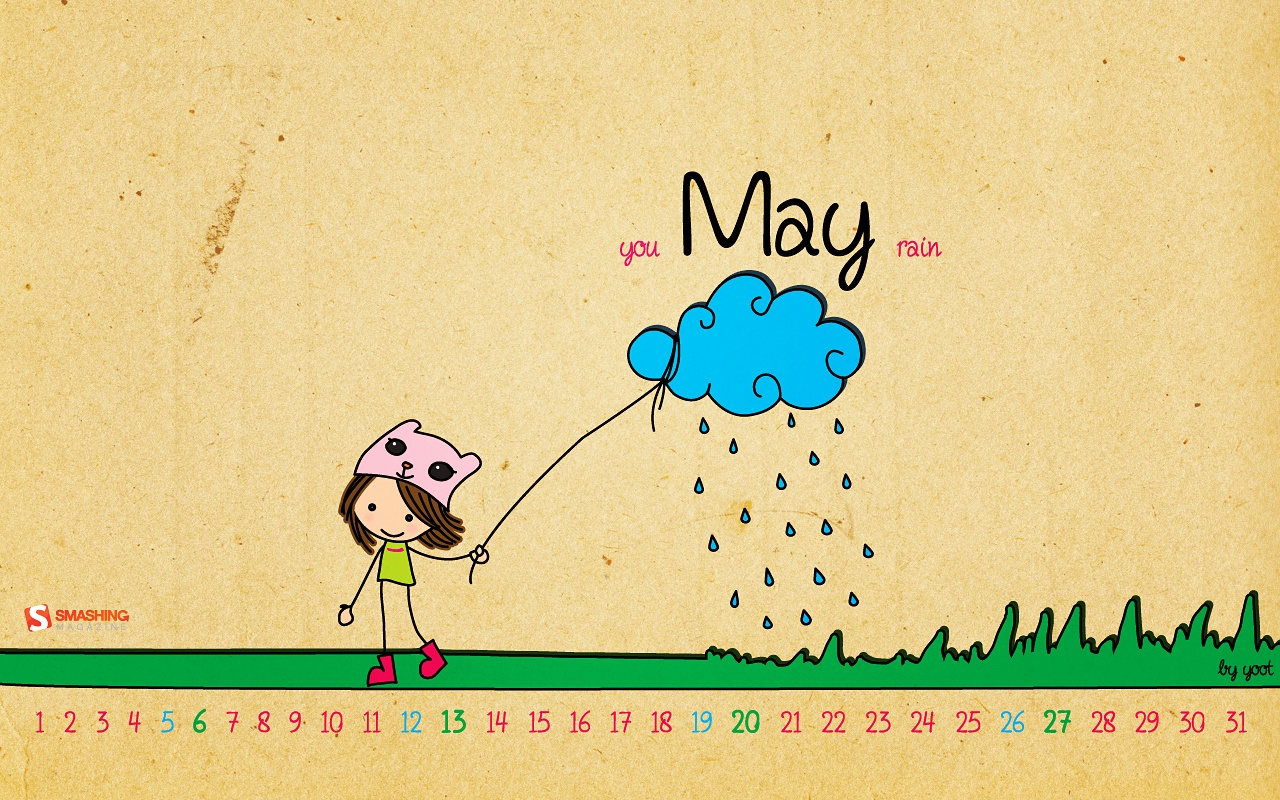 Desktop Wallpaper Calendars: May 2012 – Smashing Magazine