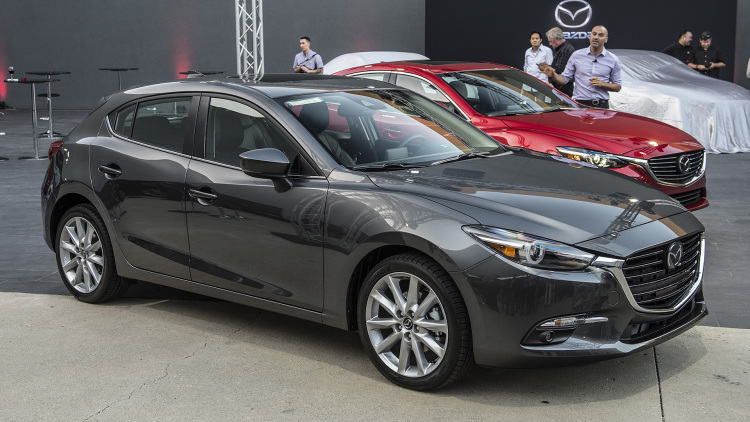 Refreshed 2017 Mazda 3 and 6 get G-Vectoring Control - Autoblog