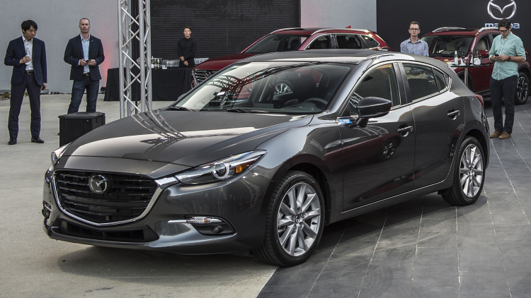 Refreshed 2017 Mazda 3 And 6 Get G Vectoring Control Autoblog