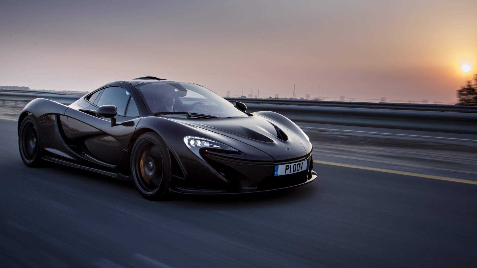 McLaren P1 Wallpaper Black - WallpaperSafari