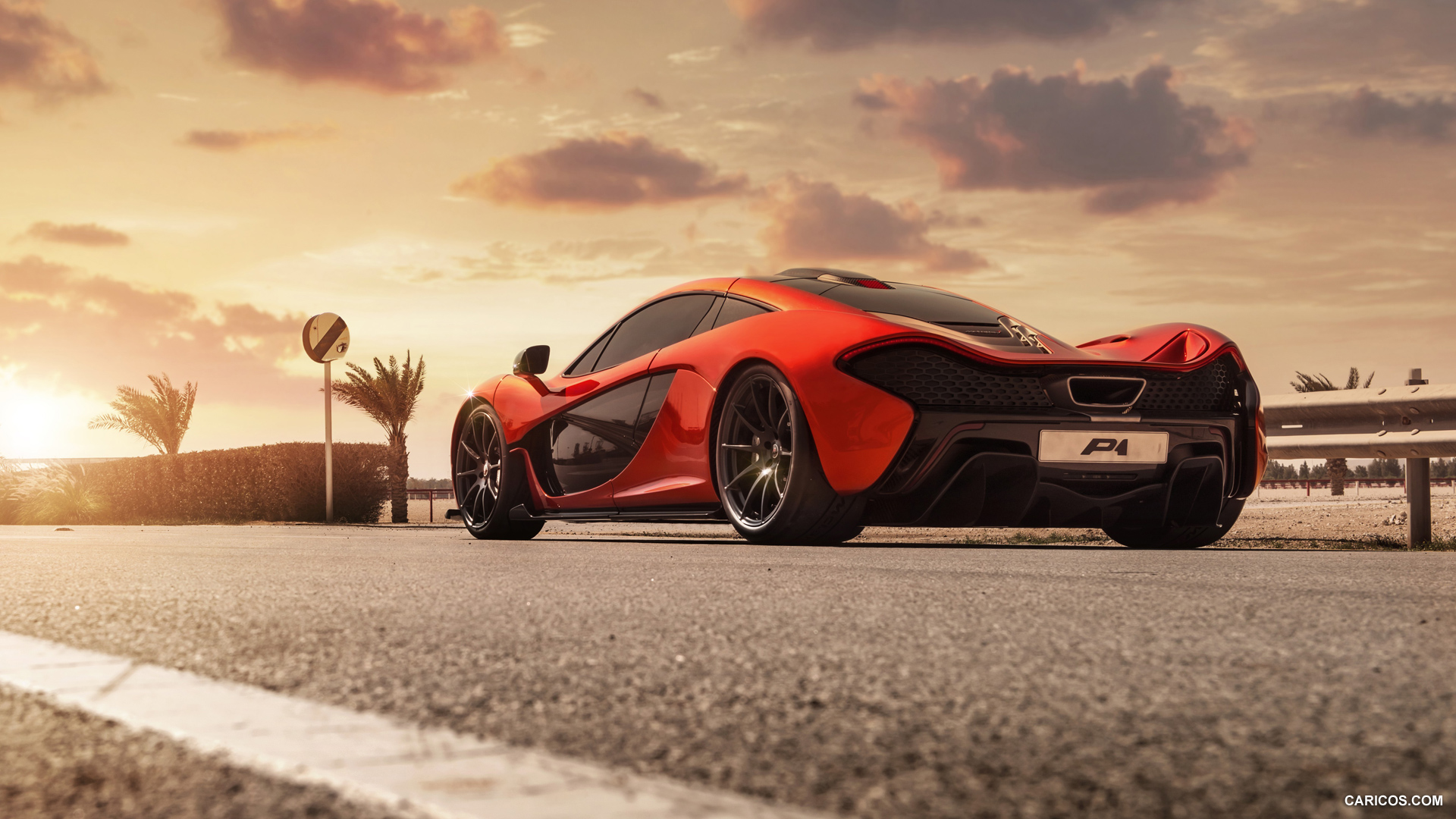 2014 McLaren P1 - Rear | HD Wallpaper #11