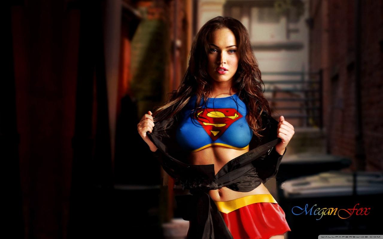 Megan fox supergirl wallpaper - SF Wallpaper