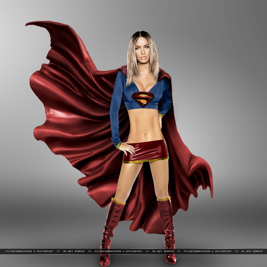 Megan Fox as Supergirl | Supergirl | Pinterest | Supergirl and Foxes