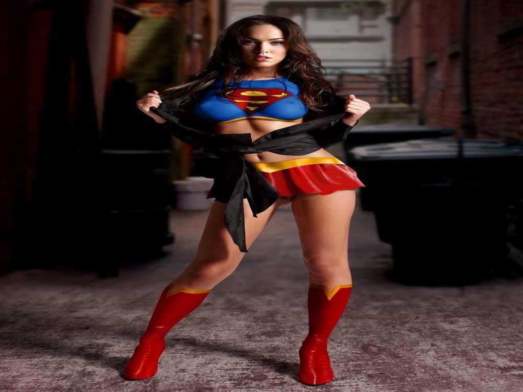 Megan Fox Supergirl Wallpaper Sf Wallpaper