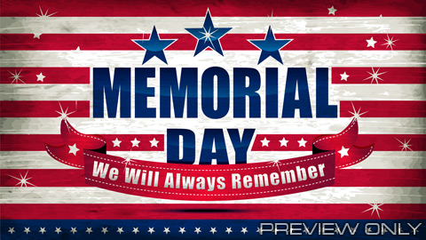 Memorial Day Background | Memorial Day Stars and Stripes