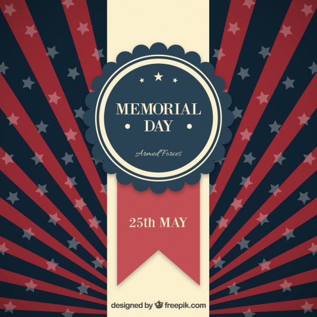 Memorial day background Vector | Free Download