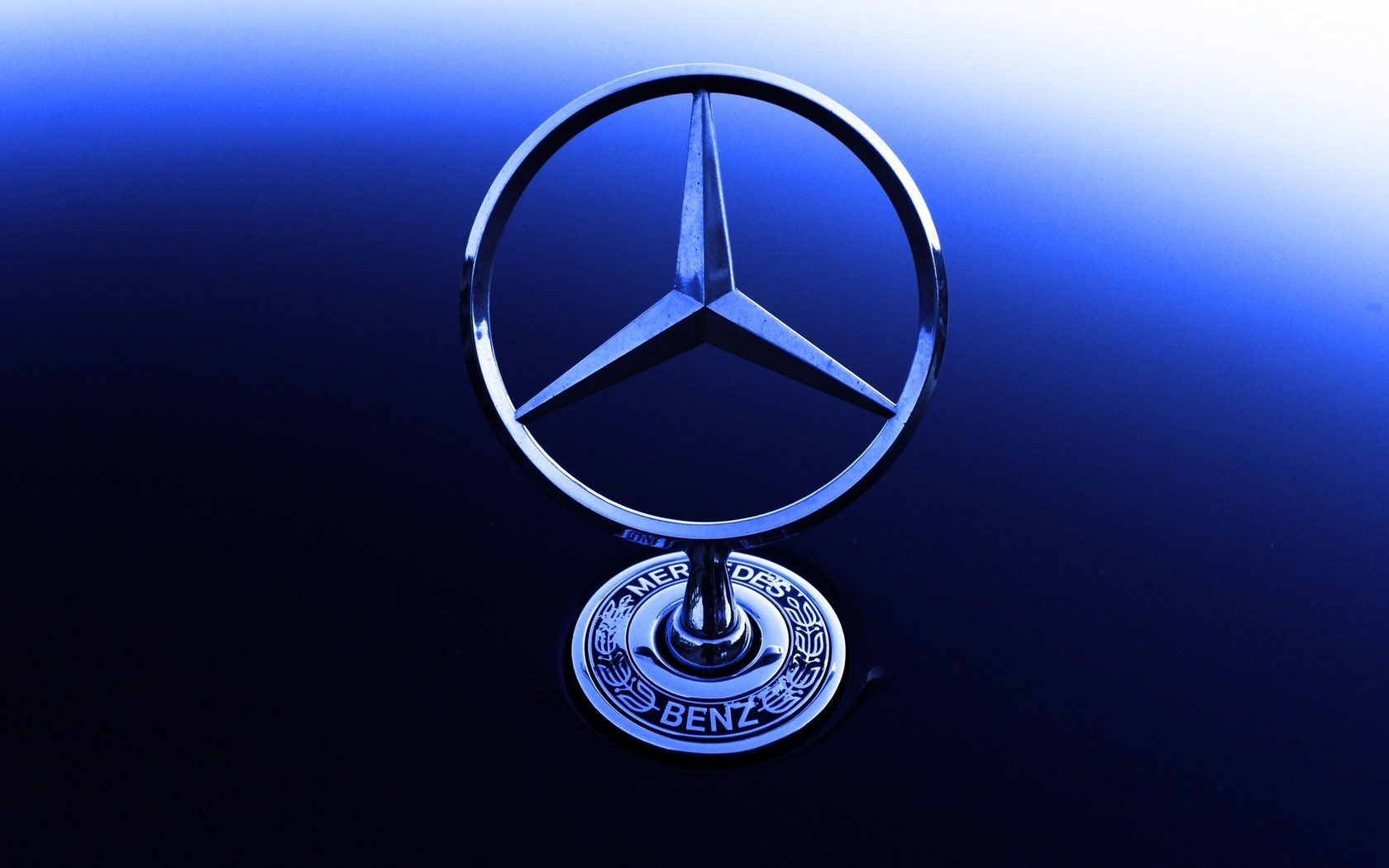 Mercedes Logo Wallpaper - WallpaperSafari