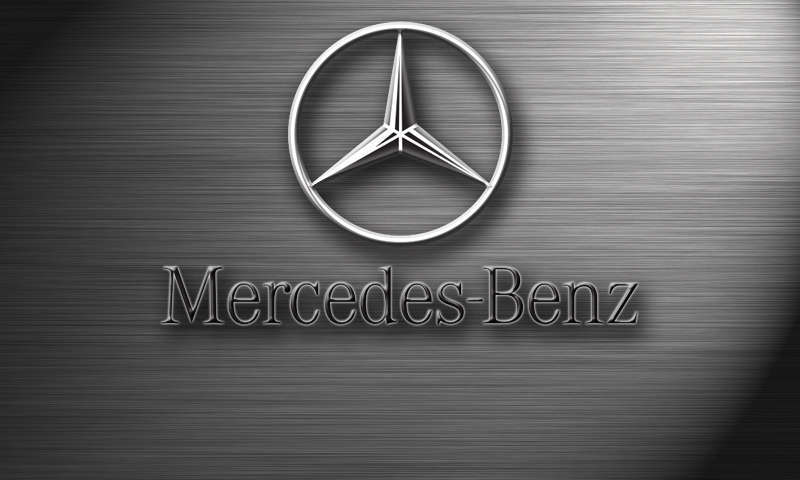 Mercedes logo wallpaper - SF Wallpaper