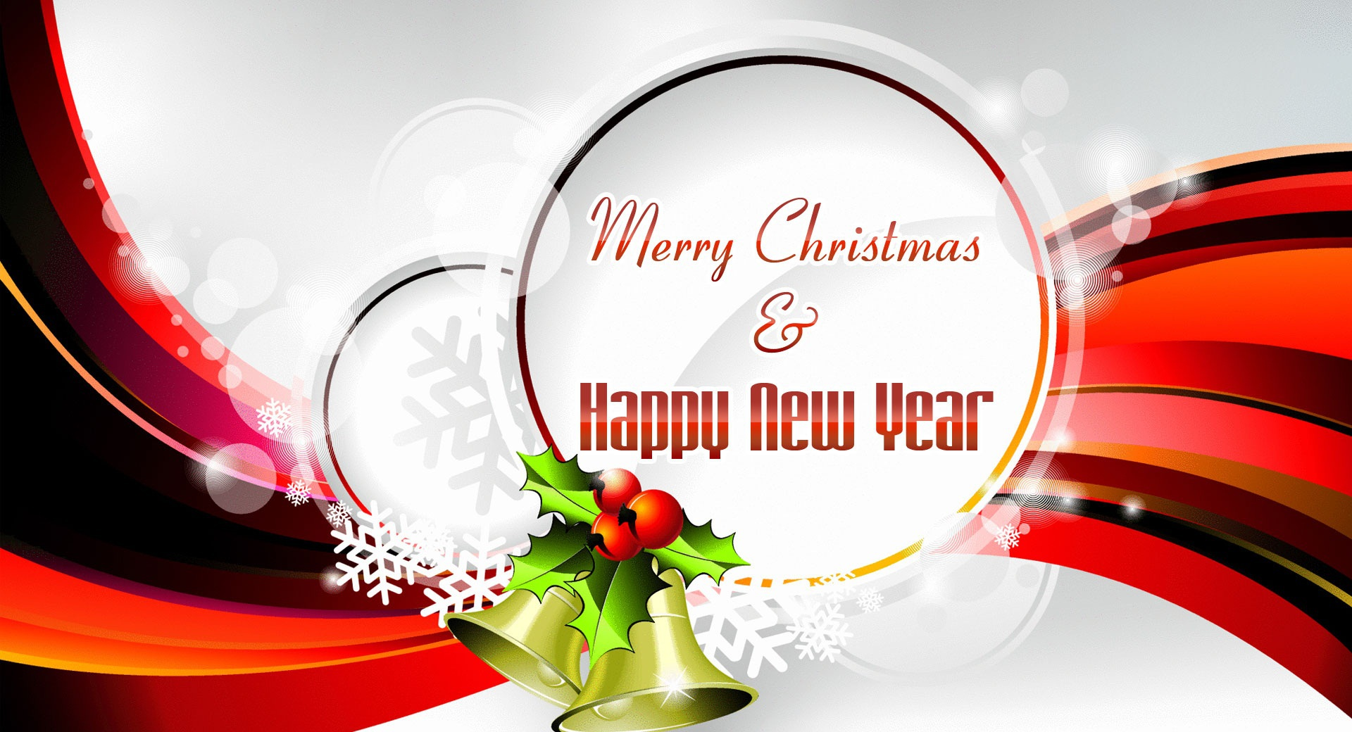 Happy New Year Merry Christmas Wallpapers