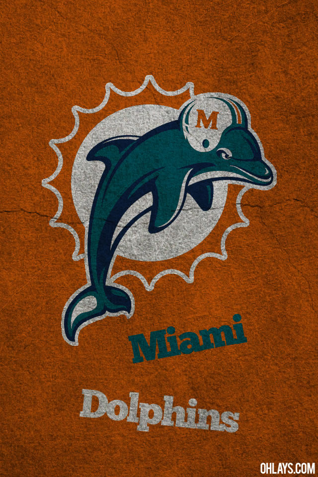 Miami Dolphins iPhone Wallpaper | #493 | ohLays