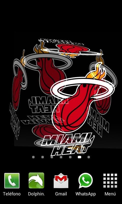 3D Miami Heat Live Wallpaper Download