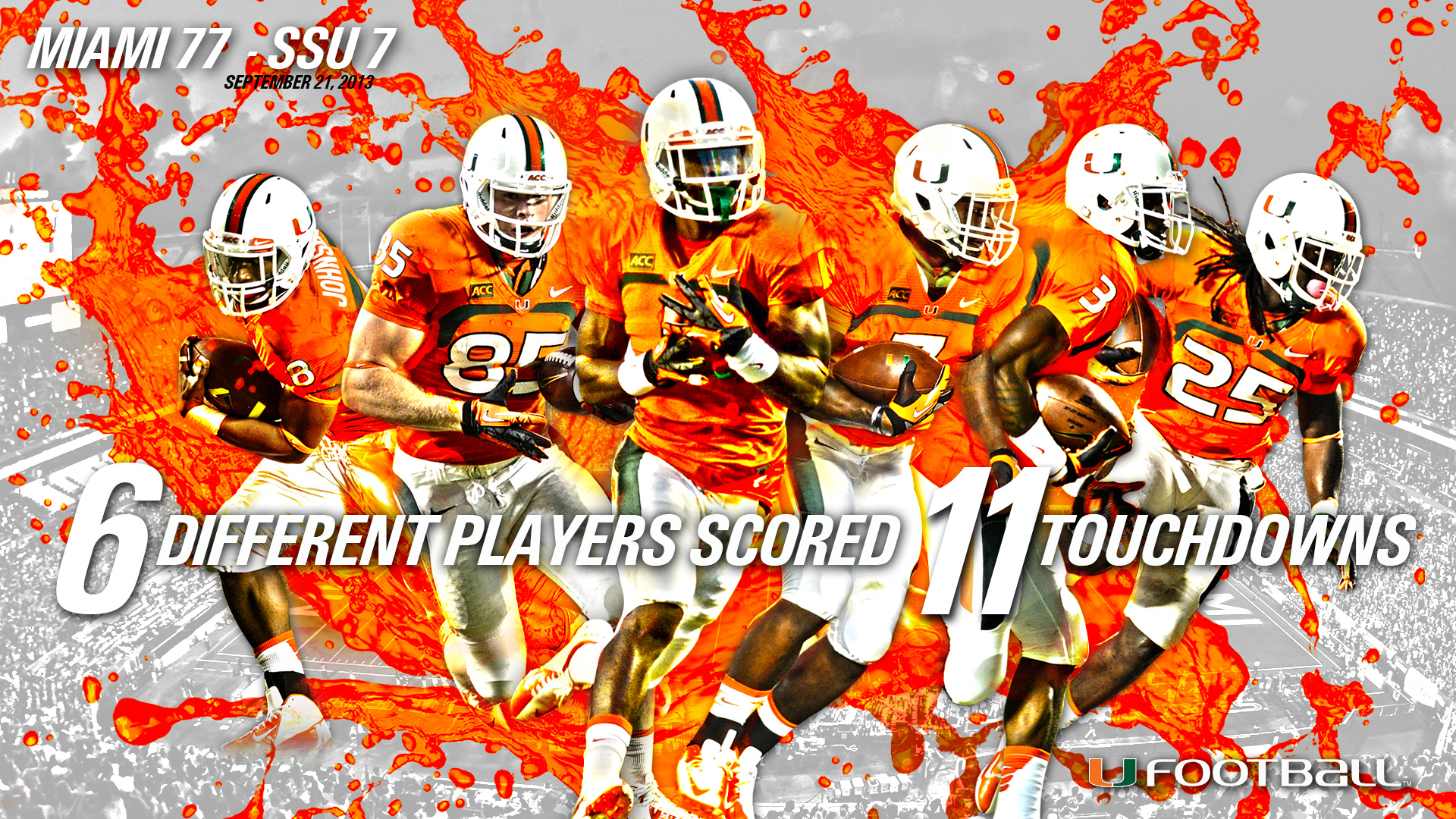2013-14 Wallpapers - University of Miami Hurricanes Official
