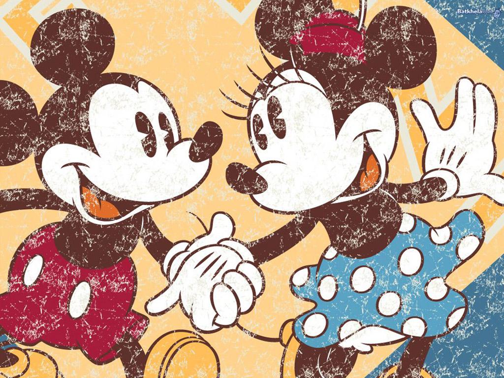 Minnie and Mickey Wallpaper - WallpaperSafari