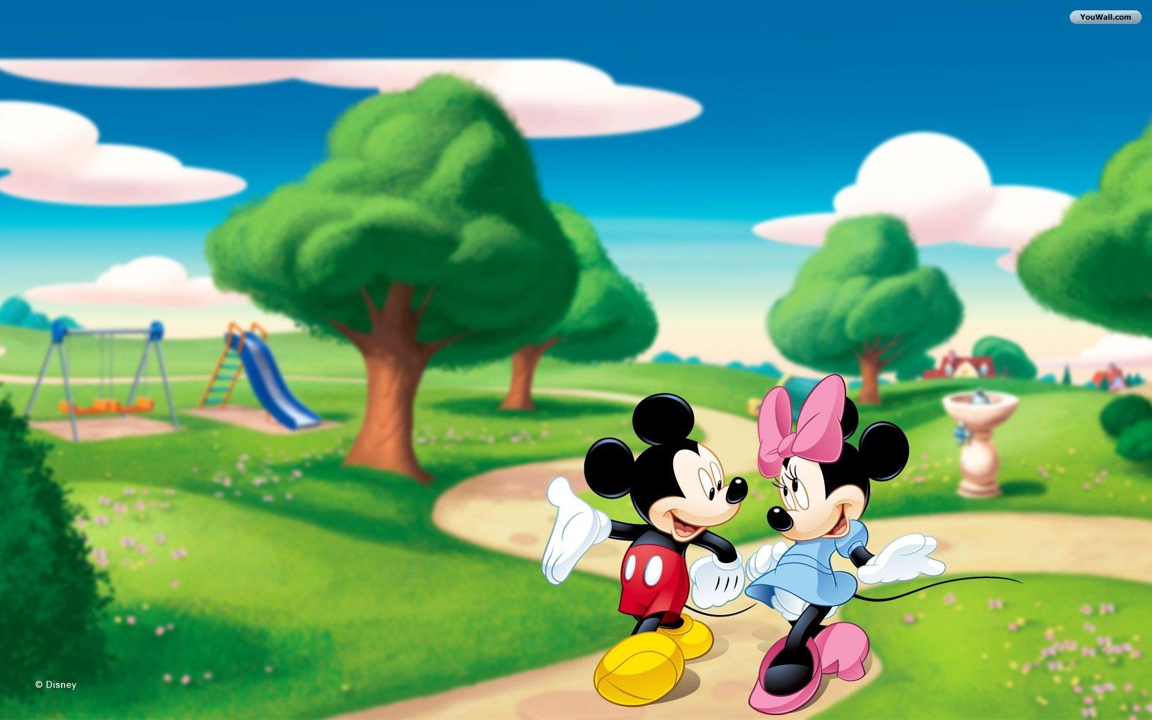 Mickey and Minnie Desktop Wallpaper - WallpaperSafari