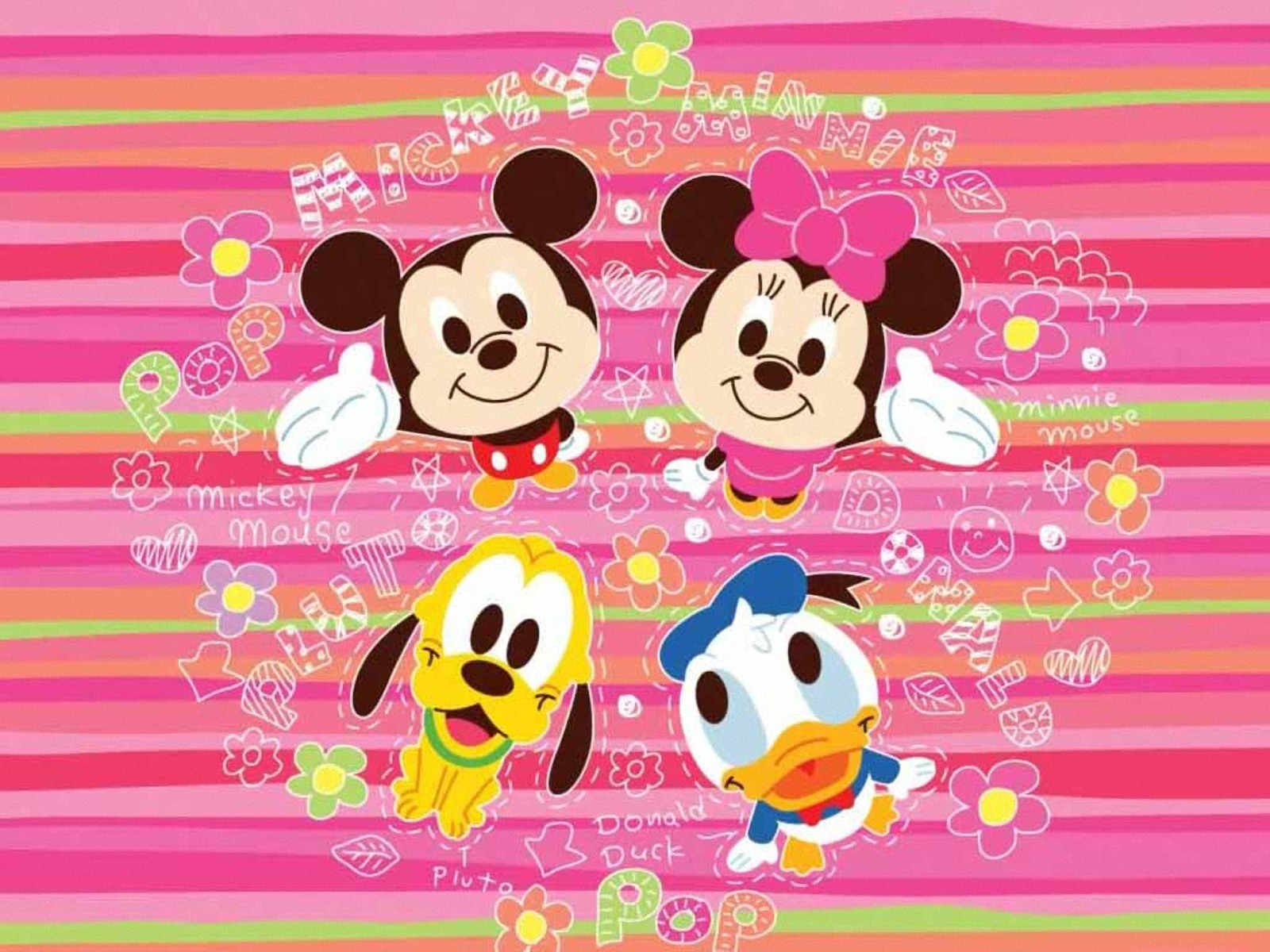 Mickey Minnie Wallpapers Free Download Page 1