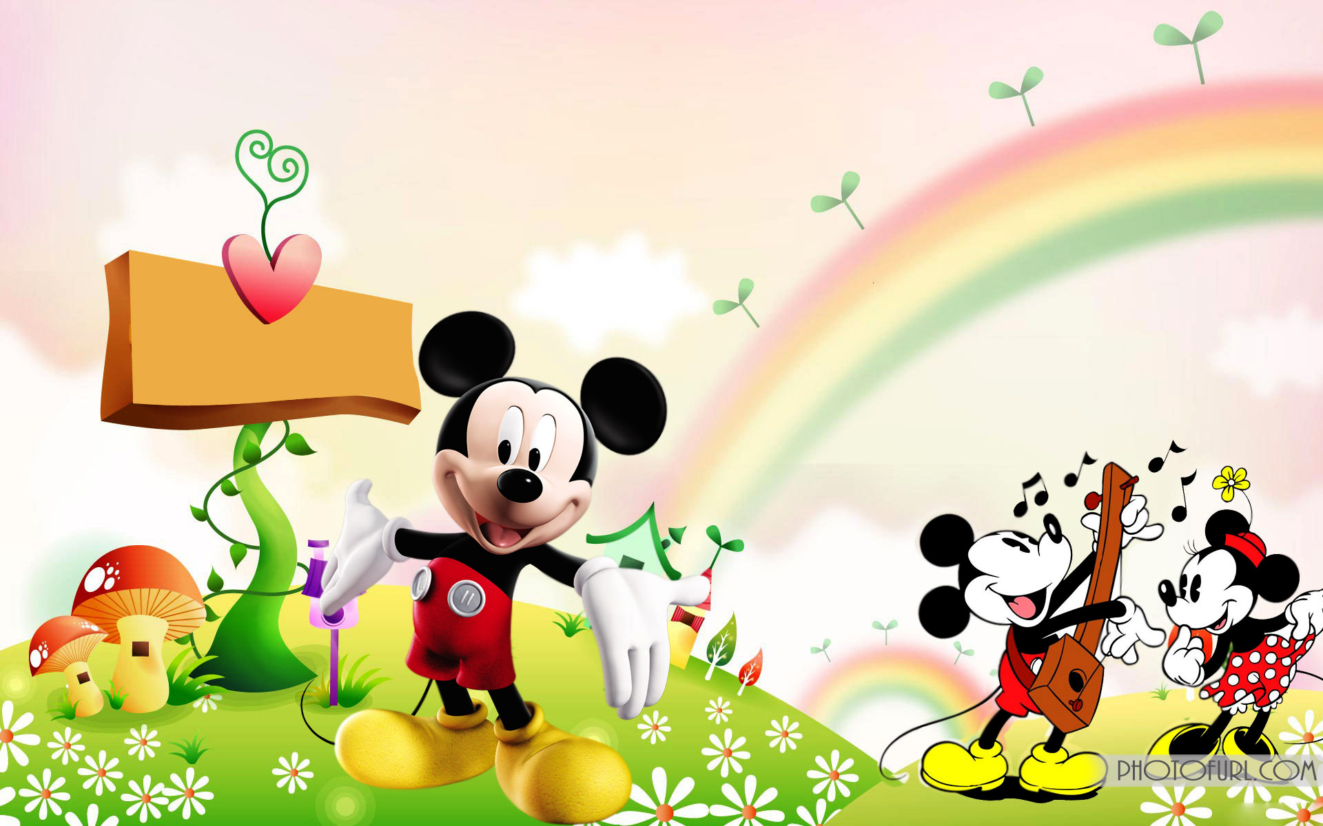 mickey mouse 3d wallpaper #19