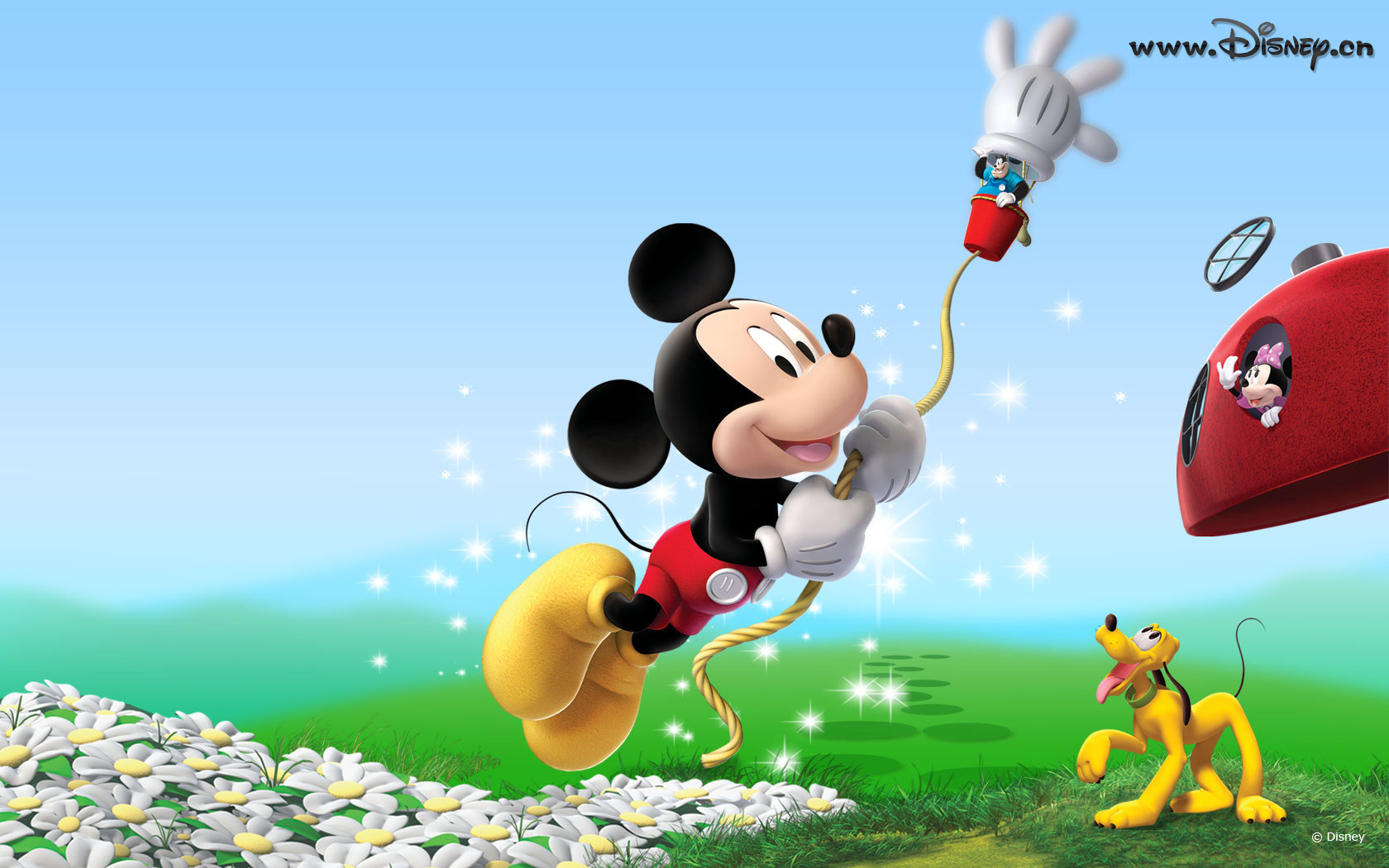Mickey Mouse 3d Wallpaper Sf Wallpaper