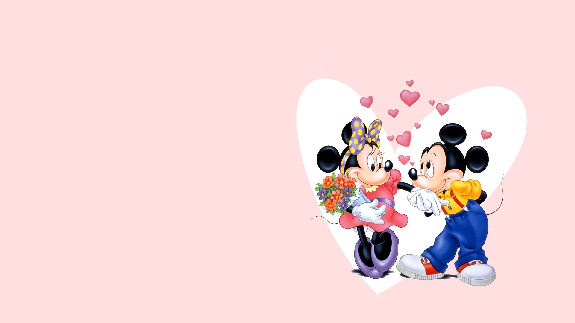 mickey mouse and minnie mouse wallpaper #2