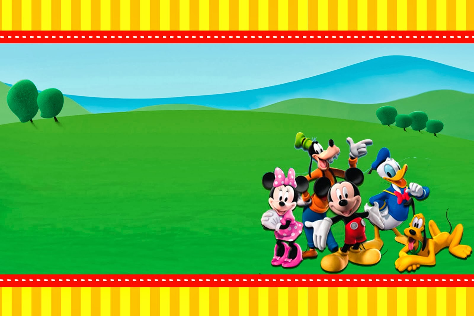 mickey mouse clubhouse background #6