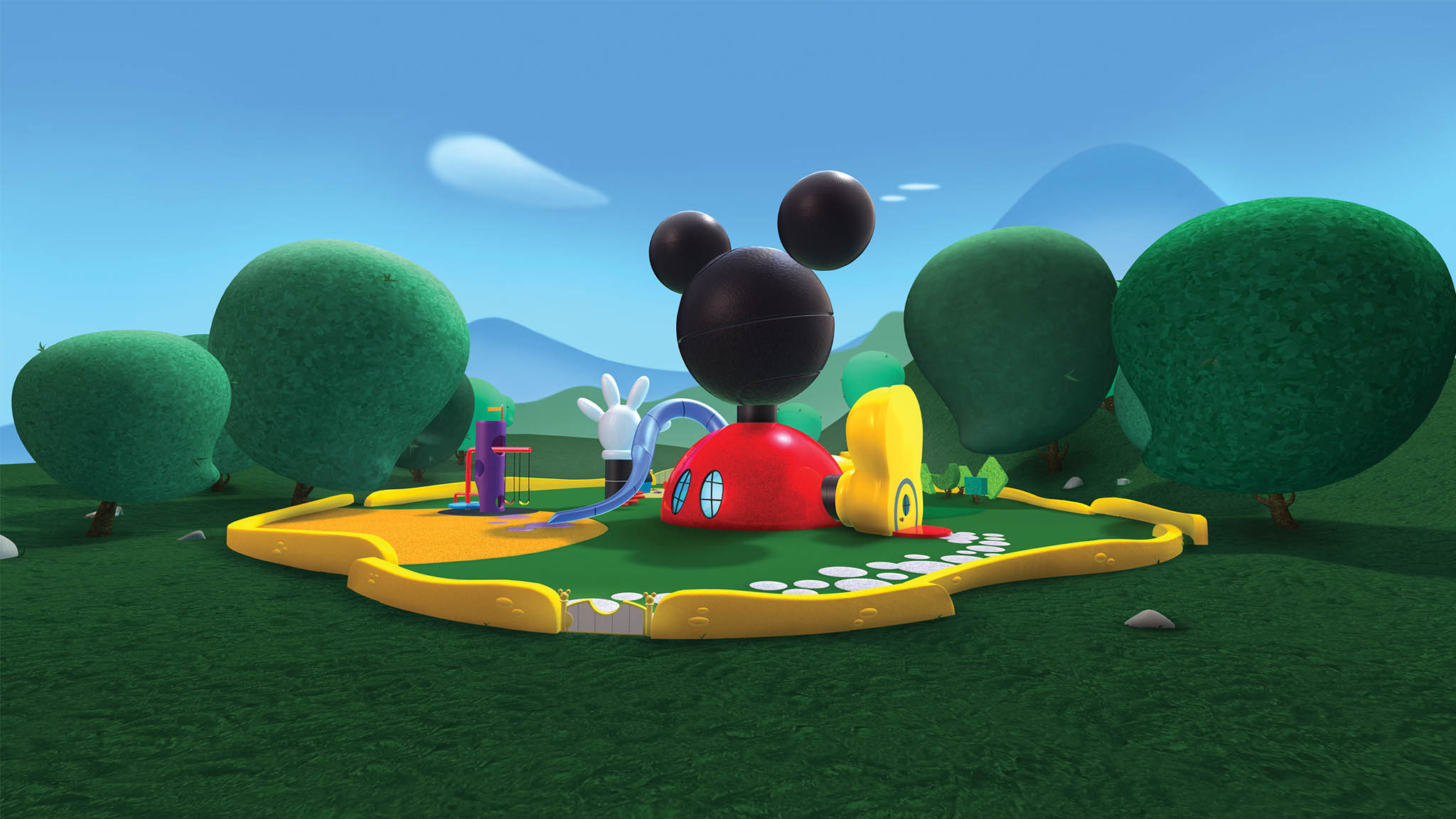 mickey mouse clubhouse background #9