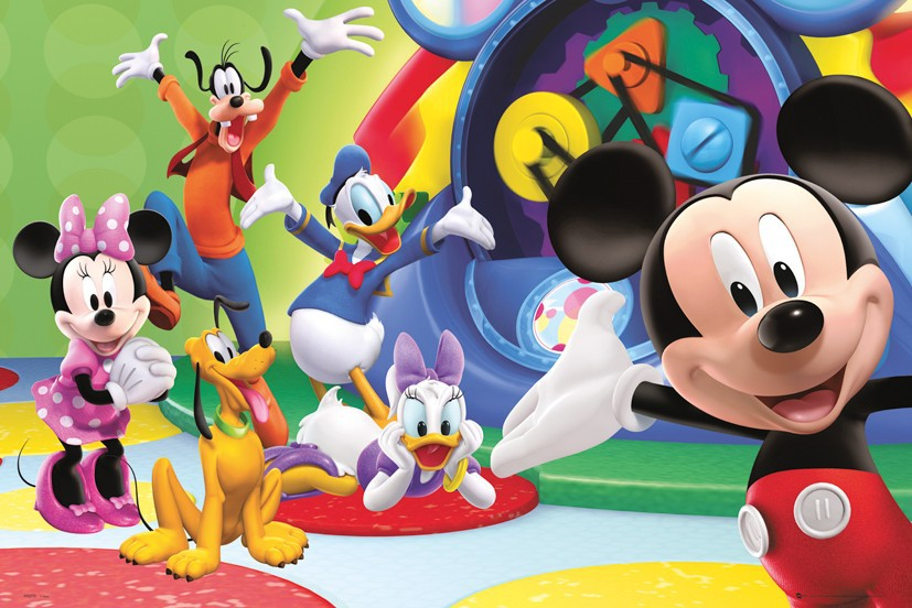 Popular Mickey Mouse Clubhouse Wall Stickers-Buy Cheap Mickey